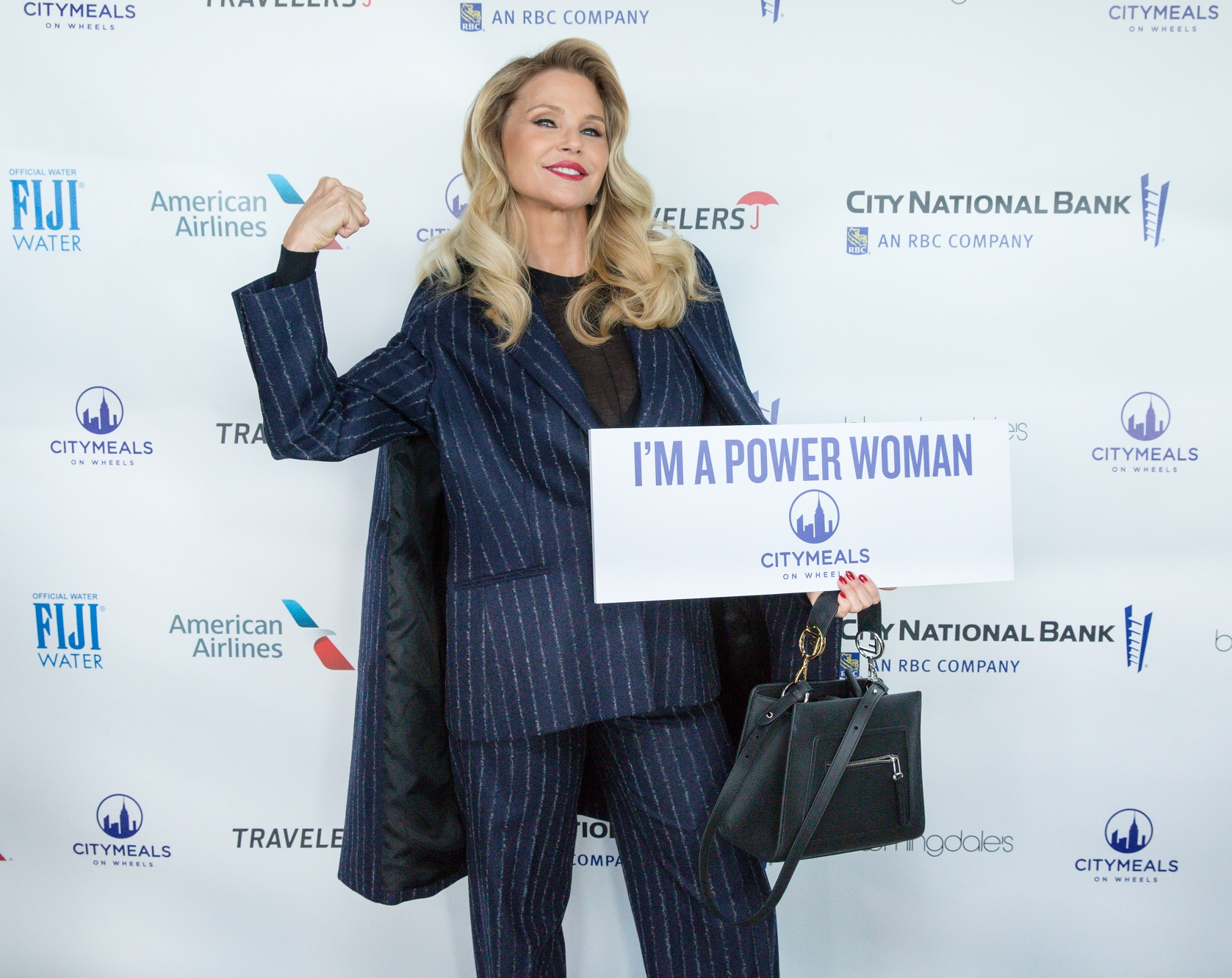 Christie Brinkley at Power Lunch