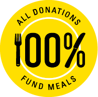 100% of all donations fund meals